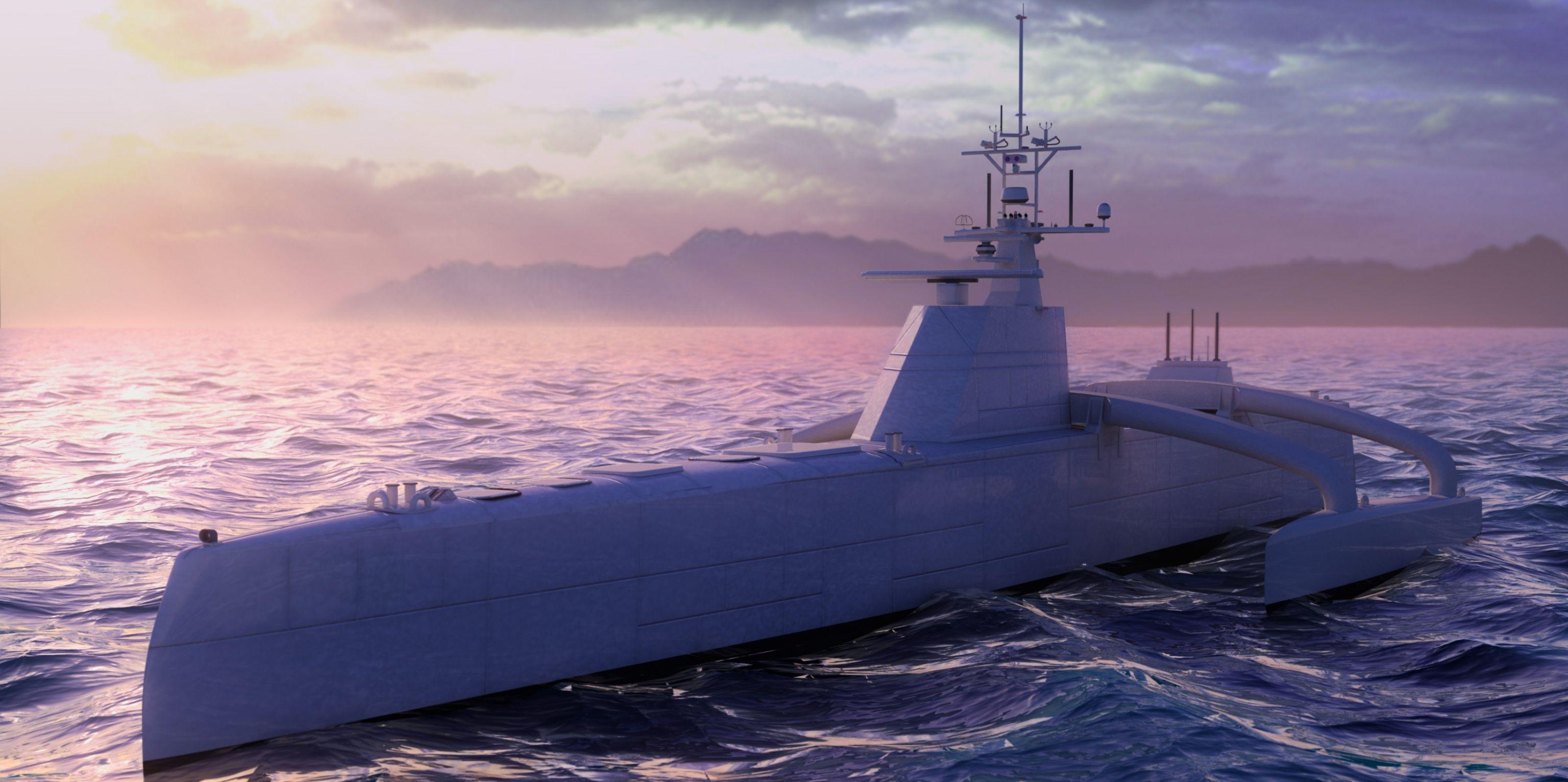 ACTUV: El buque antisubmarino de DARPA con inteligencia propia