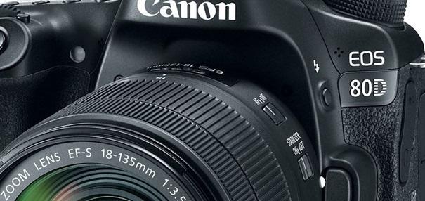 Canon EOS 80D - Portada