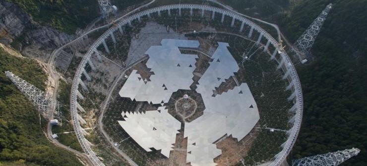 Five-hundred-meter Aperture Spherical Telescope (FAST) Telescopio - Portada