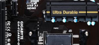Gigabyte F2A88X-D3HP - Portada