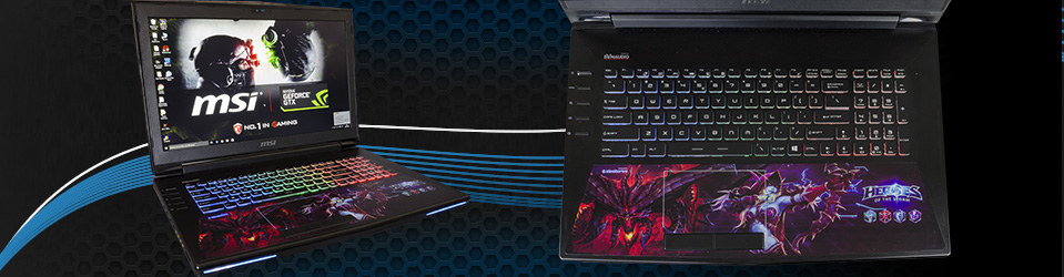 Review: MSI GT72S 6QE Heroes of the Storm