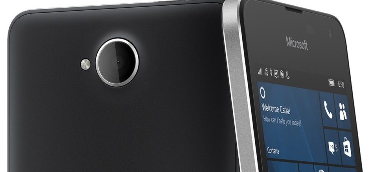 Microsoft Lumia 650 - Portada