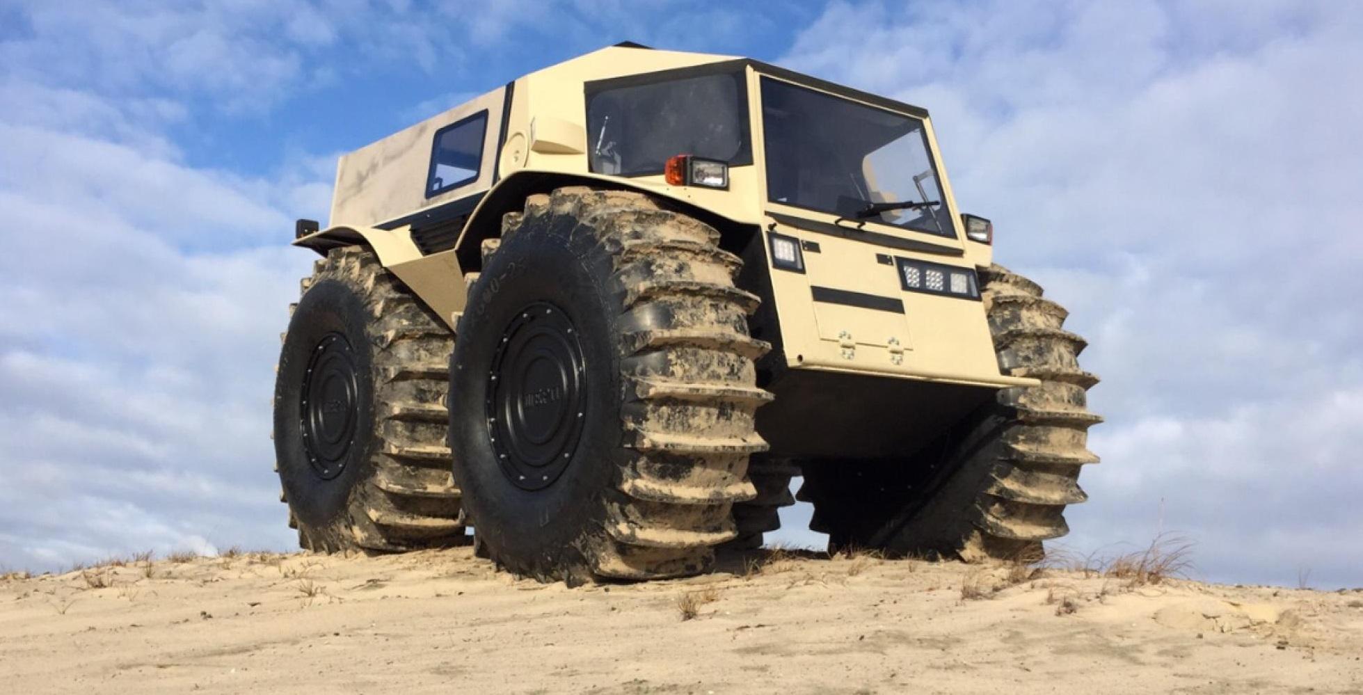 SHERP ATV: El alocado vehículo todoterreno ruso