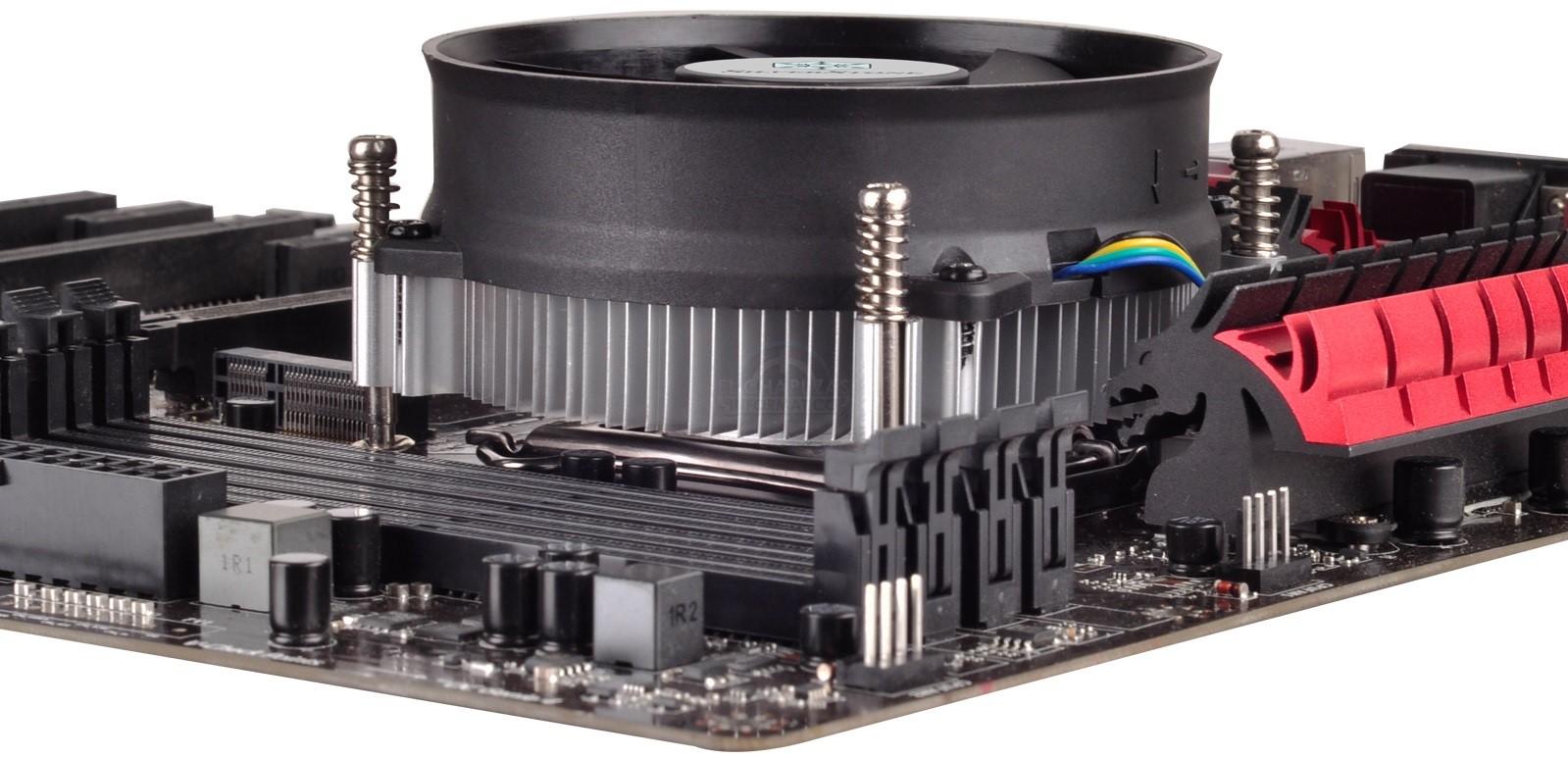 SilverStone NT09-115X: Disipador compacto para CPUs Intel
