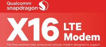 Snapdragon X16 LTE