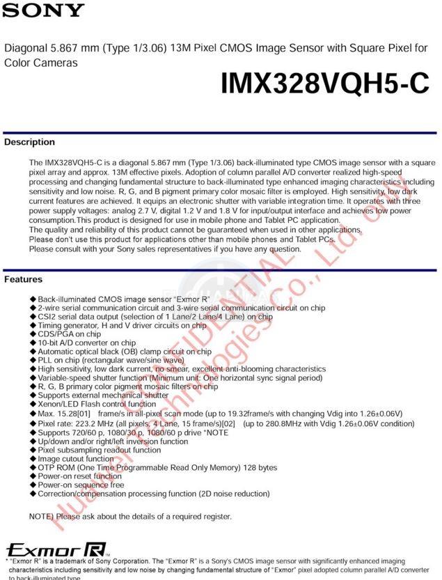 Sony IMX328