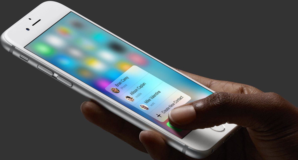 Apple denunciada por infracción de Copyright con su 3D Touch