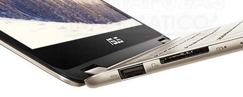 Asus ZenBook Flip UX360CA: Ultrabook convertible de 1.3kg