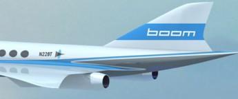 Boom - avión supersónico - Portada