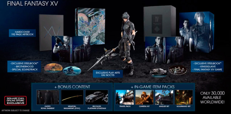 Final Fantasy XV Deluxe Edition 740x368 0