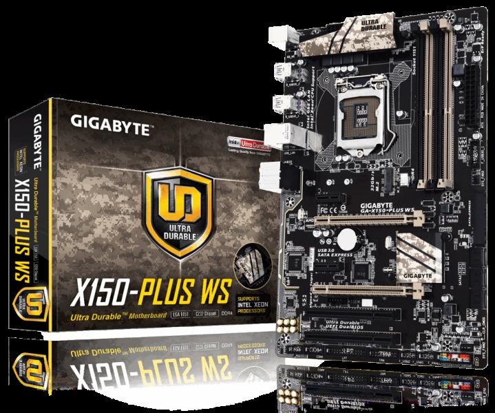 Gigabyte X150-Plus WS Oficial