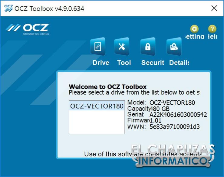 OCZ Vector 180 16