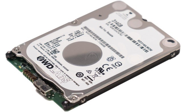 #GDC – Western Digital PiDrive 314GB, HDD para Raspberry