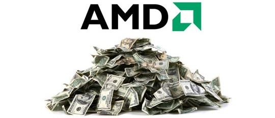 Buenas noticias para AMD, sube en bolsa un 52,29%