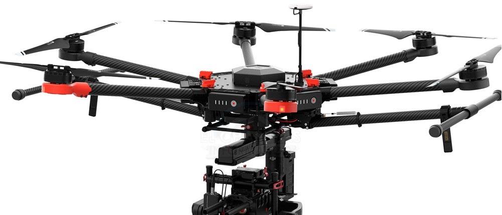 DJI Matrice 600: Dron pensado para cargar con cámaras pesadas