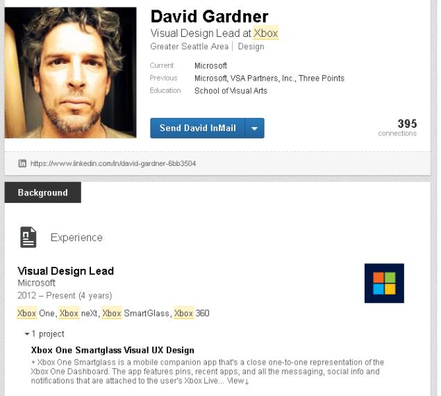 David Gardner - Xbox neXt
