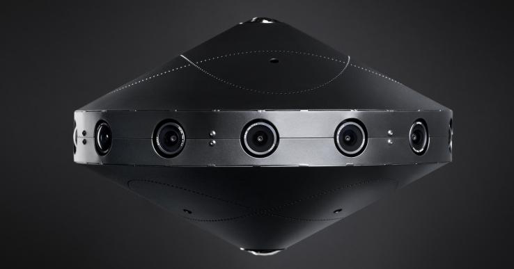 Facebook Surround 360: Cámara que captura vídeo 8K en 360º