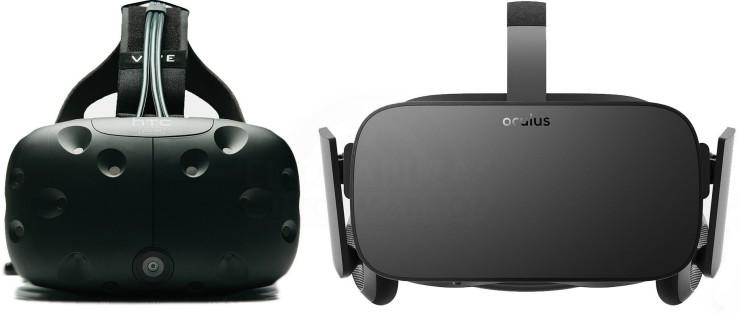 HTC Vive vs Oculus Rift 740x317 2