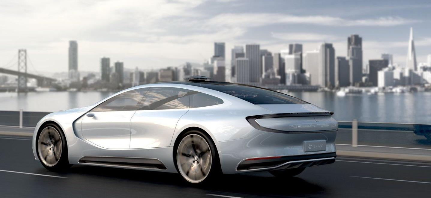 LeEco LeSEE, el coche eléctrico que competirá con Tesla