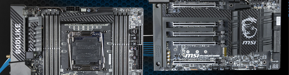 Review: MSI X99A Godlike Gaming Carbon