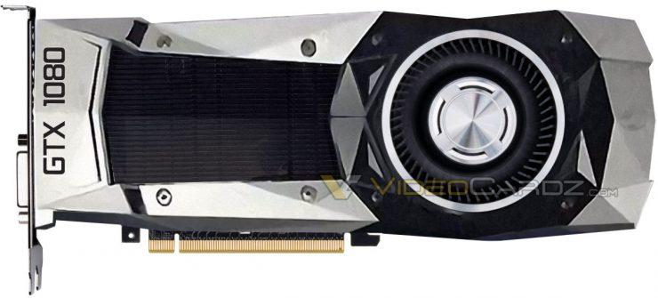 Nvidia GeForce GTX 1080 filtración
