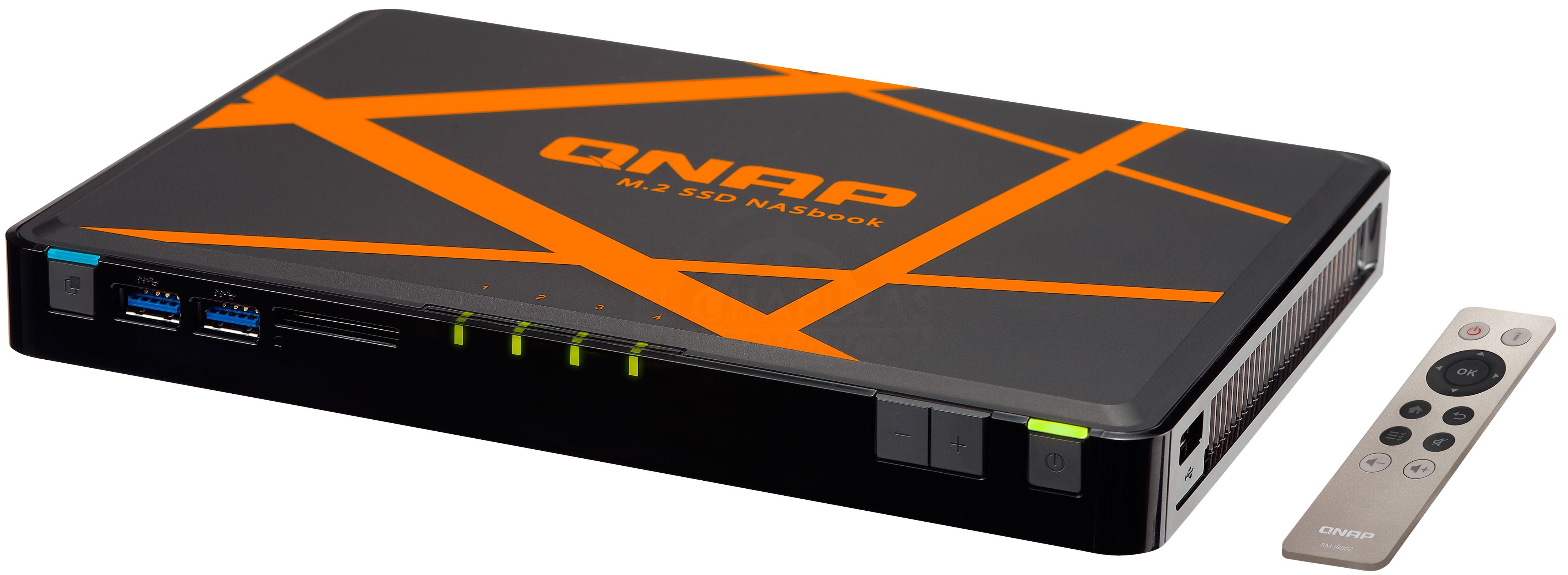 QNAP TBS-453A NASbook: El primer NAS para SSDs M.2