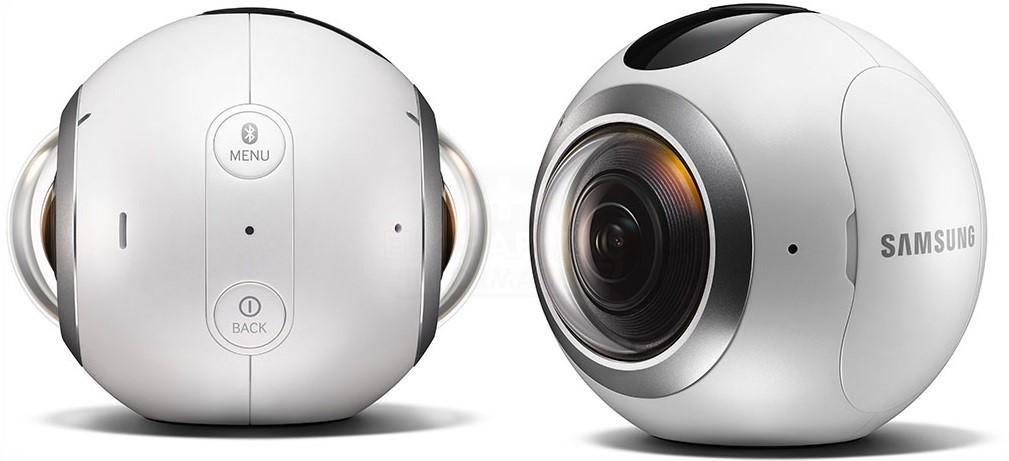 La Samsung Gear 360 es un cámara VR asequible, cuesta 350 euros