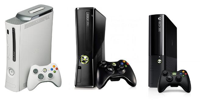 Xbox 360 - versiones