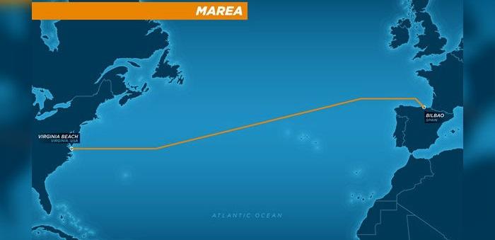 Facebook y Microsoft unirán EE.UU y España con un cable submarino