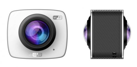 EleCam360, la cámara deportiva para grabar a 360º de Elephone