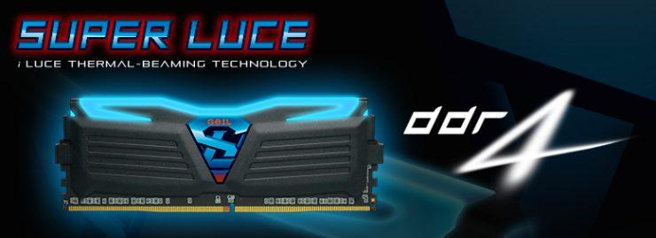 GeiL Super Luce DDR4 Oficial