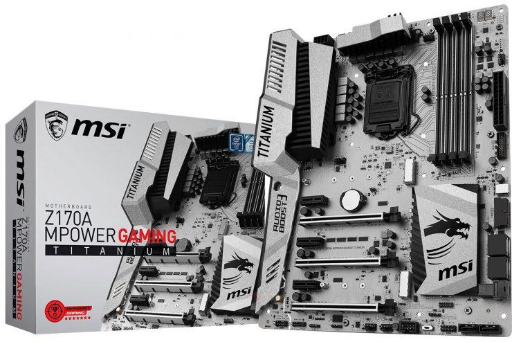 MSI Z170A MPower Gaming Titanium (1)