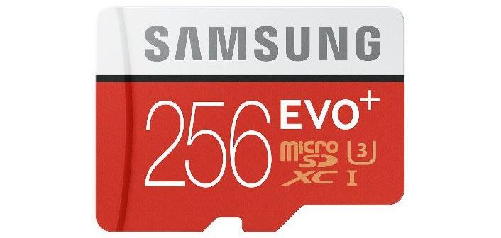 La microSD Samsung EVO Plus alcanza los 256GB