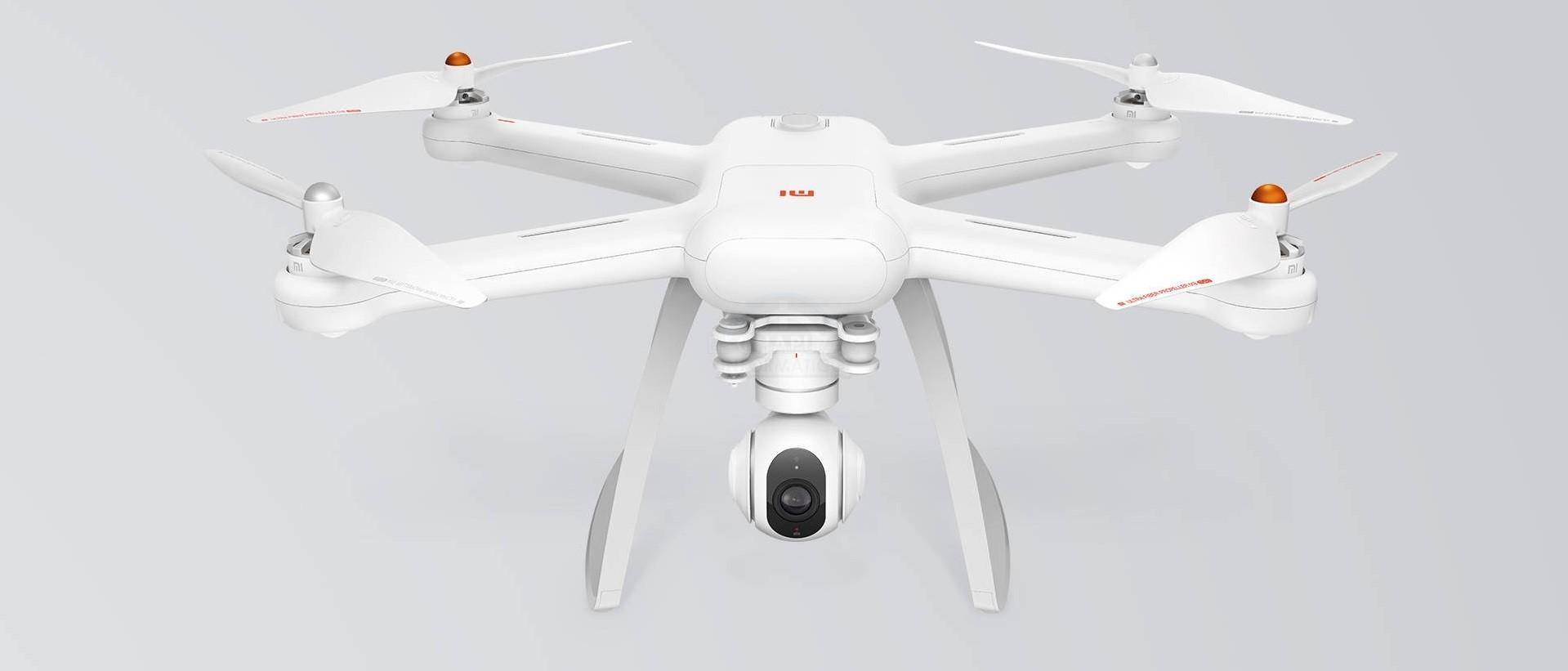 Xiaomi Mi Drone: Elevada autonomía y cámara con estabilización Gimbal