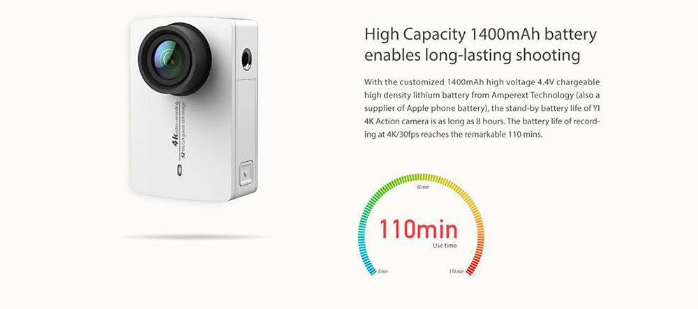 Xiaomi YI 4K: La cámara deportiva 4K económica de Xiaomi