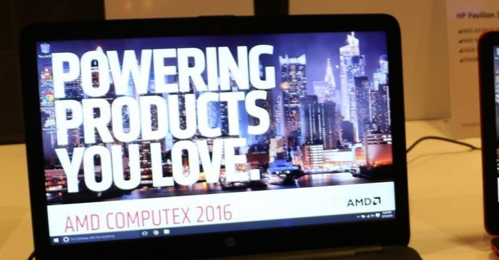 AMD Zen - Portatiles HP  portada