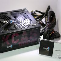 #Computex – Aerocool KCAS-1200, HIGGS y AES, fuentes para todos