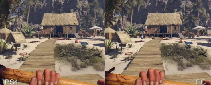 Dead Island Definitive Collection PC vs PlayStation 4