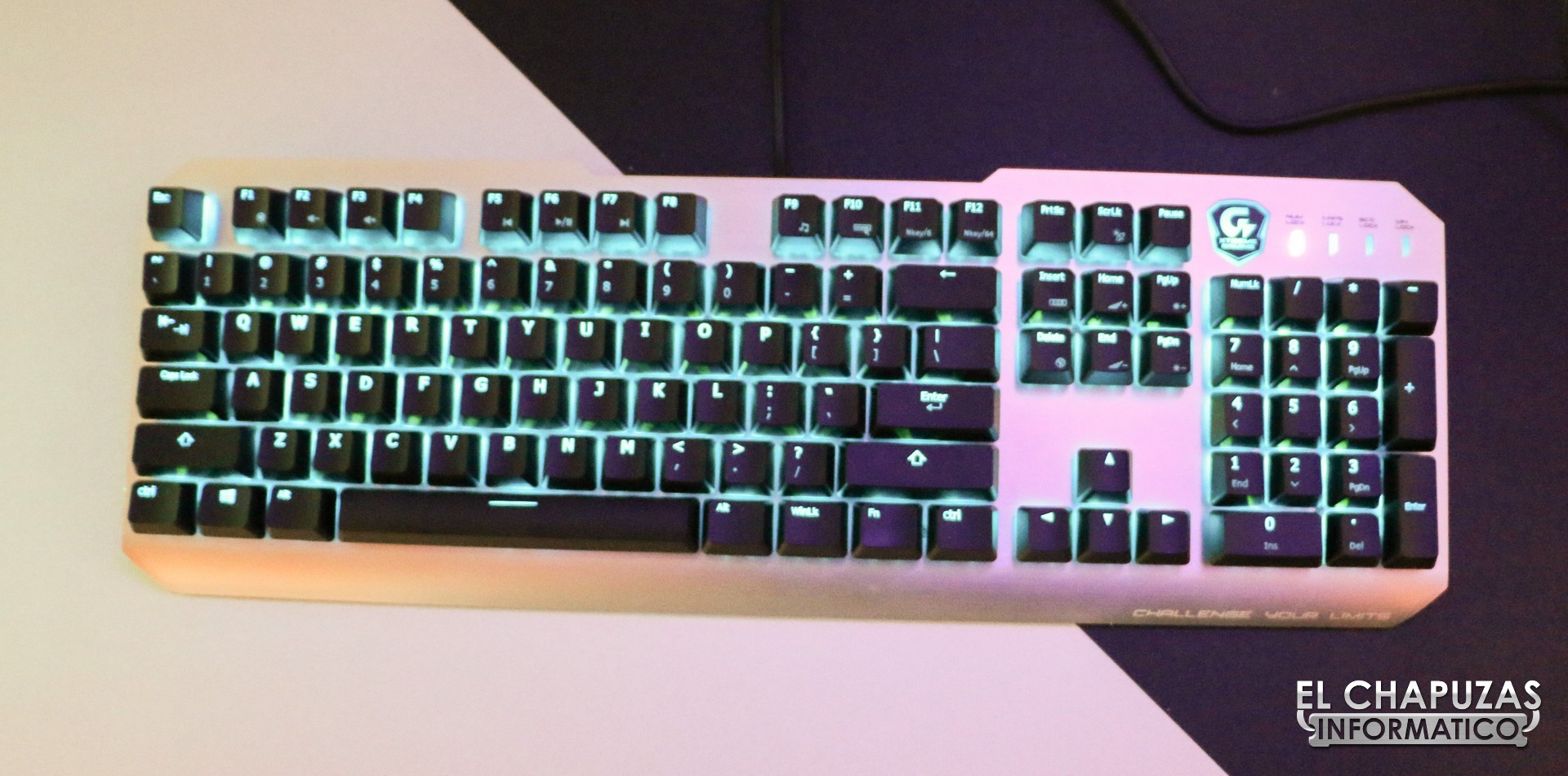 #Computex – Gigabyte XK700, teclado mecánico RGB
