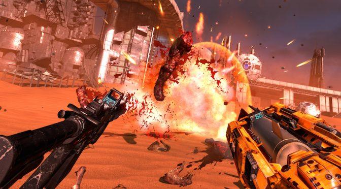 Oculus quiso comprar la exclusividad temporal de Serious Sam VR para Rift