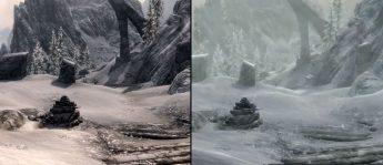 Skyrim PC vs Skyrim Remasterizado