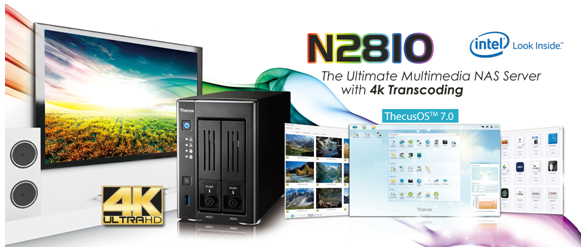 Thecus N2810 Oficial