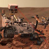 El rover Curiosity podría conseguir muestras de agua en Marte