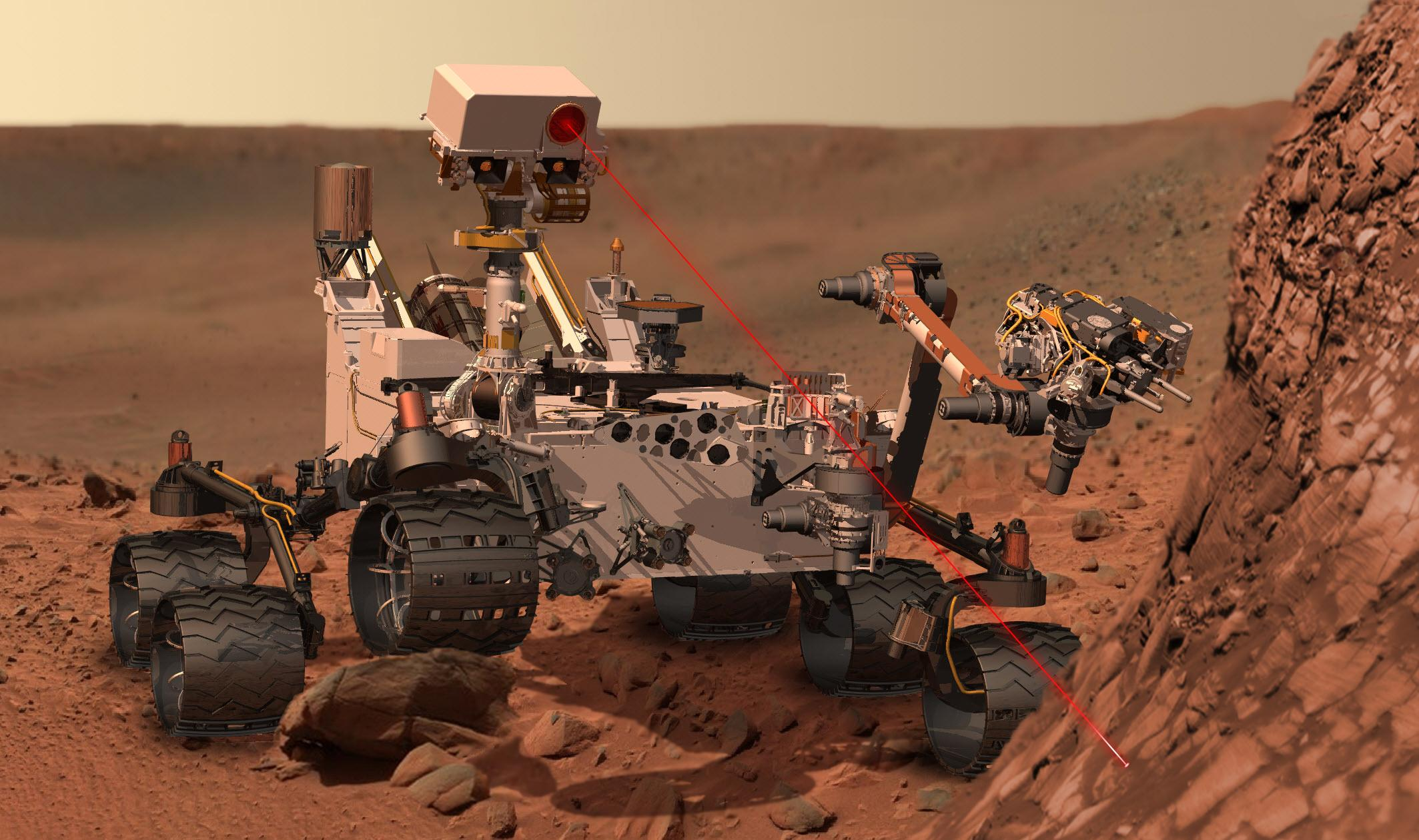 curiosity mars rover pictures - HD 2127×1259