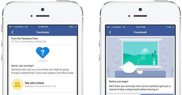 Facebook facilita a sus usuarios herramientas para la prevención del suicidio
