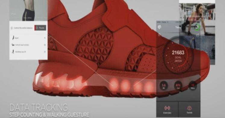 Lenovo planea hacer un calzado deportivo inteligente