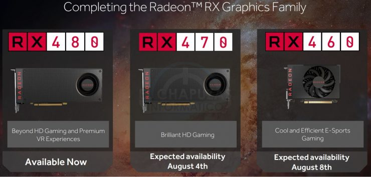 AMD Radeon RX 470 & AMD Radeon RX 460