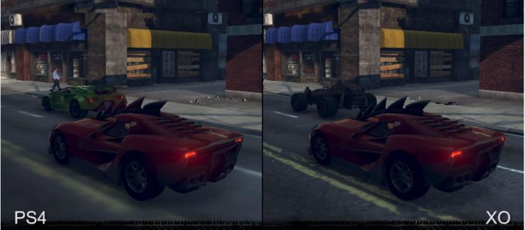 Carmageddon Max Damage - PlayStation 4 vs Xbox One