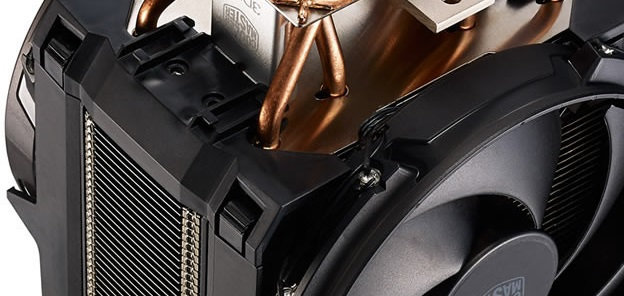 Cooler Master Master Air Maker 8: 172mm de alto y 1.35 kg de peso