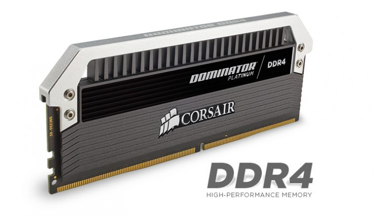 Corsair Dominator Platinum DDR4 (Quad Channel) Oficial